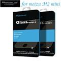 Meizu m2 mini mocolo vidrio templado 5.0 pulgadas 100% original premium protector de pantalla para meizu m2 mini teléfono celular + envío libre