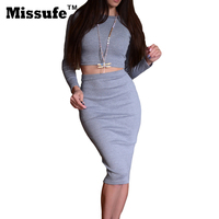 Summer Vestidos Sexy Women Bandage Dress 2 Pieces Ladies Sets Bodycon Dress 2016 Jumpsuits Slim O