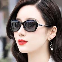 Vazrobe وجه صغير الاستقطاب النظارات الشمسية النساء نظارات شمس أنيقة للمرأة 2019 جديد الإناث ظلال مكافحة انعكاس UV400