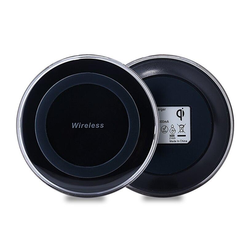 HAISSKY <font><b>Qi</b></font> Wireless <font><b>Charger</b></font> Micro USB Charging For iPhone X 8 Plus For Samsung S7/S7E Note5 Wireless <font><b>Charger</b></font> Pad For NEXU S4 <font><b>S5</b></font>