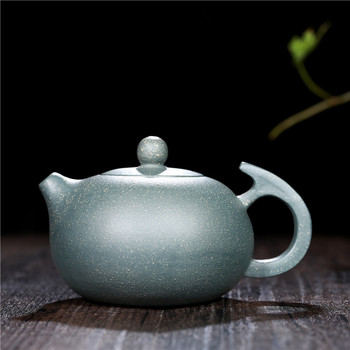 280ML Yixing Authentic Purple Clay Teapot Creative Raw Ore Puer Tieguanyin Pot Office Teaware Handmade Zisha Tea Kettle Gifts