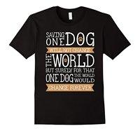 สุนัขกู้ภัยเสื้อยืดเสื้อยืดราคาถูกขายส่ง