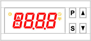 Image 5 - ZL 7817A, PID temperature controller, thermostat, with Integrated SSR, 100 240Vac power supply, CE, ISO, Lilytech