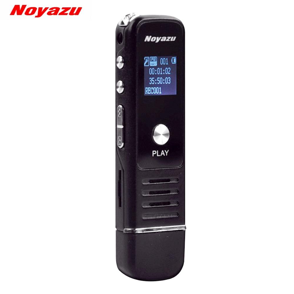 Noyazu 905 Профессиональный Mini 8 ГБ 16 ГБ 32 ГБ USB цифровой Аудио Голос Регистраторы диктофон MP3-плееры Запись ручка Перезаряжаемые