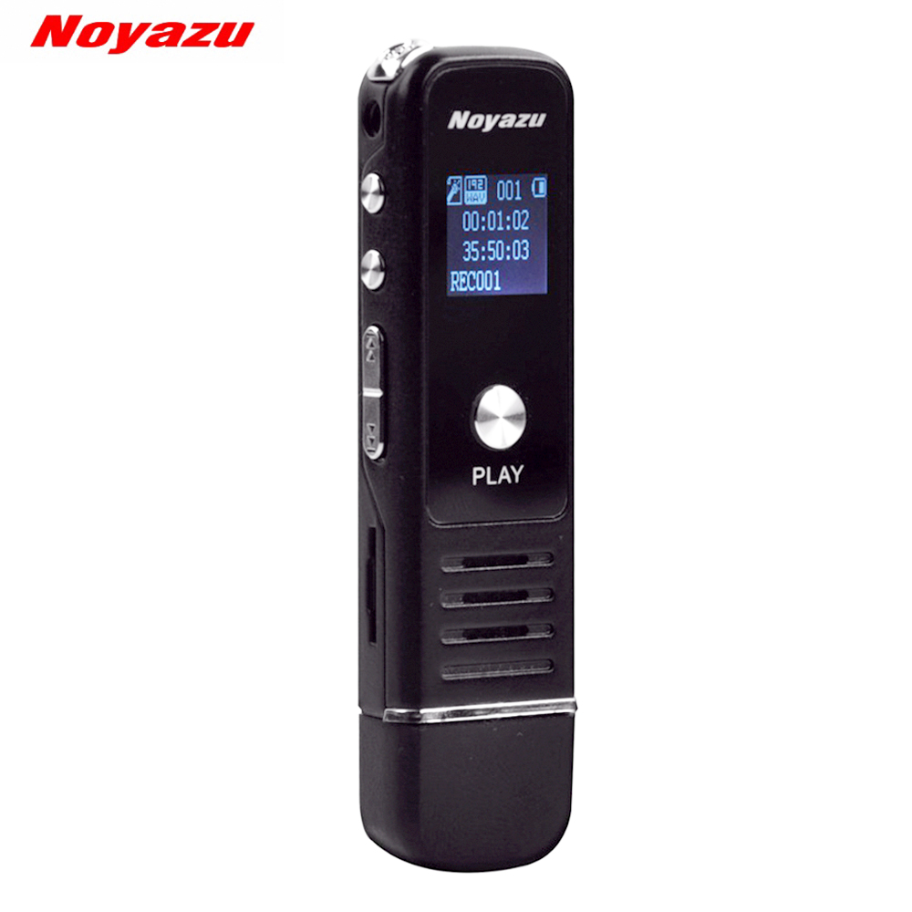 Noyazu 905 Professional Mini 8GB 16GB 32GB USB Digital Audio Voice Recorder Dictaphone MP3 Player Recording Pen Rechargeable vandlion v2 digital voice recorder wrist watch audio rechargeable dictaphone mp3 player mini recording pen recorder for business