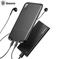 Baseus Audio Case For IPhoneX Plastic TPU Hybrid Mobile Phone Back Case For IPhone X Ten