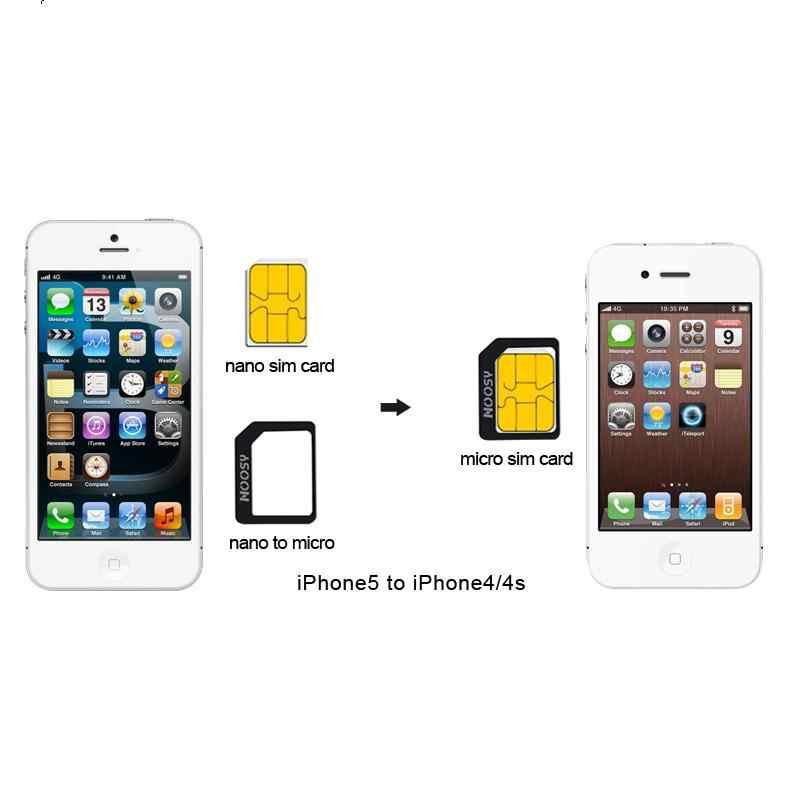4 в 1 Nano sim-карты Micro SIM адаптеры Стандартный адаптер для сим-карты Извлечение Pin для iphone 7 8 4S 5 5S 6 6 S XS Max XR мобильных телефонов