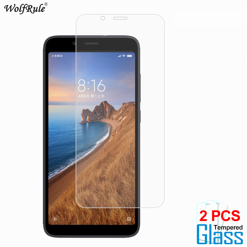 Image 2 - 2Pcs Protective Glass For Xiaomi Redmi 8A 7 5A 4A S2 Note 8 Screen Protector Tempered Glass For Xiaomi Redmi 8A Glass Phone Film-in Phone Screen Protectors from Cellphones & Telecommunications