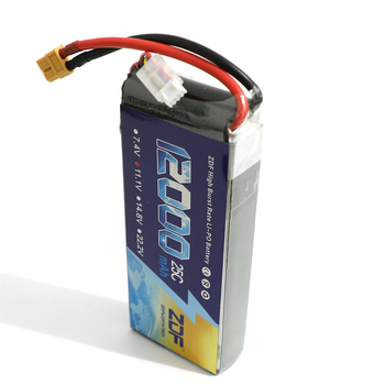 ZDF Power Li-polymer Lipo Battery 3S 11.1V 12000mah 25C Max 50C For Helicopter RC Model Quadcopter Airplane Drone CAR FPV