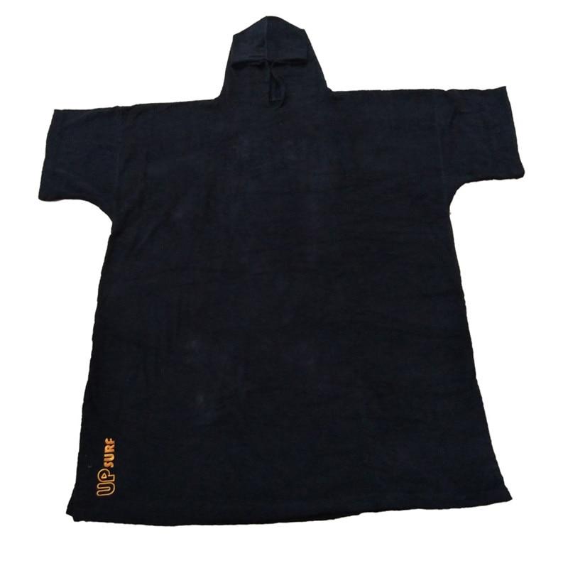 2019 nouvelles surf poncho combinaison changement Robe Poncho serviette avec capuche pour nager, sports de plage, 100% coton oversize adulte