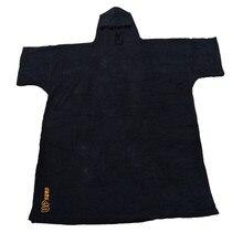 Combinaison poncho de surf à changement de Robe, serviette avec capuche, pour nager et sports de plage, 2020 coton, grande taille, pour adultes, nouvelle collection 100%