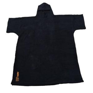 Image 1 - Combinaison poncho de surf à changement de Robe, serviette avec capuche, pour nager et sports de plage, 2020 coton, grande taille, pour adultes, nouvelle collection 100%