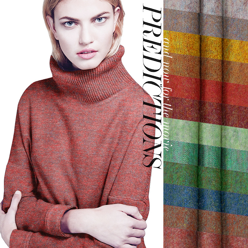 Limited Hot Sale Export Italy High Quality Fine Wool Knitting Fabric