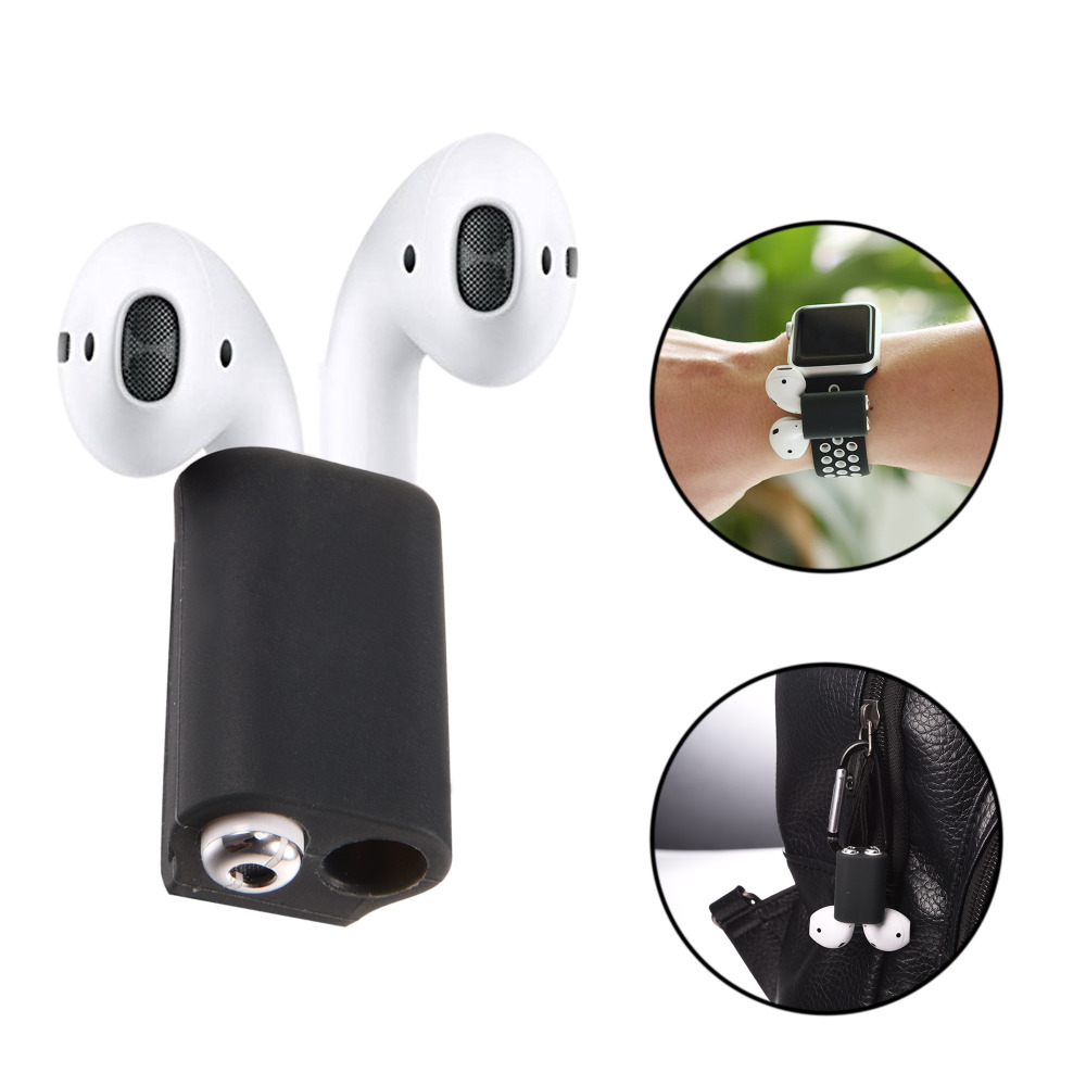 AirPods Holder,Portable Sports Anti lost Silicone Holder