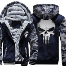Hoodies 2019 fashion homme Hooded fleece thicken Coat wool liner Winter Warm men fitness Thicken Zipper Jacket Sweatshirts pp