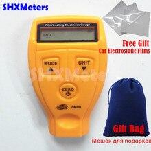 Новая Цифровая 0-1.8 мм/0.01 мм ЖК Толщиномер Покрытий Автомобильная Краска Толщина Метр Авто толщина тестер Диагностический Инструмент