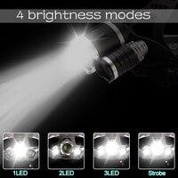 Налобный LED-фонарь #4