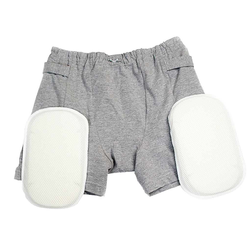 2pcs Women Hip Fractures Protector Pants Fall Injury Prevention Shorts Underwear Grey2pcs Women Hip Fractures Protector Pants Fall Injury Prevention Shorts Underwear Grey