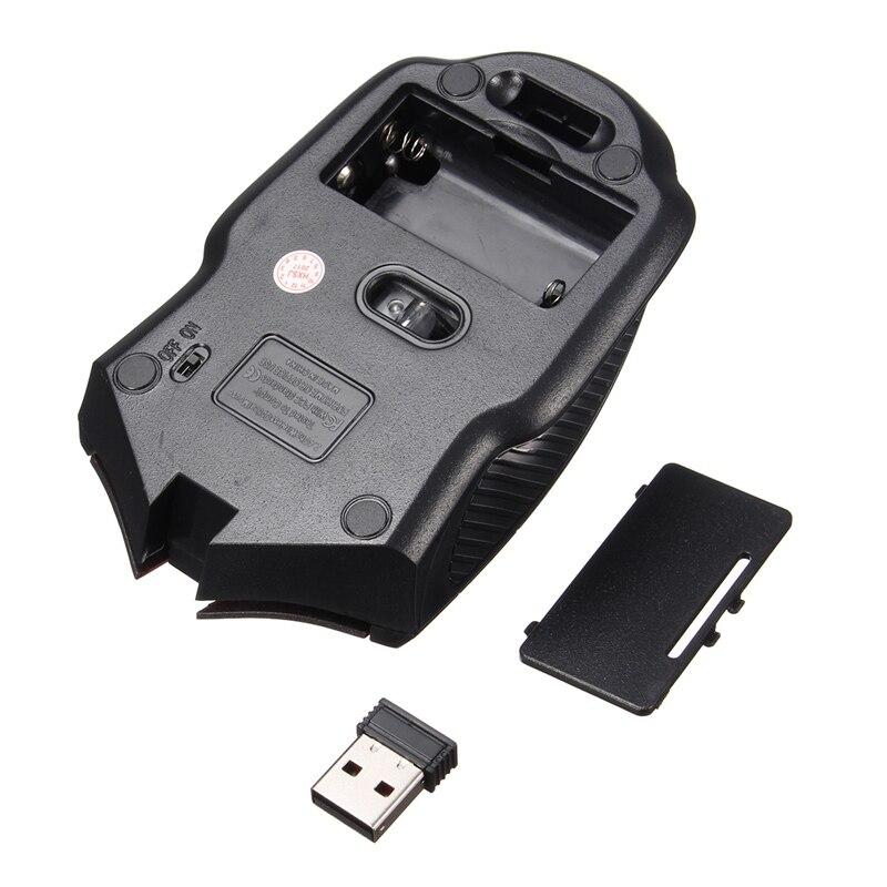 PC laptopu üçün yeni 2.4Ghz Mini Portativ Simsiz Siçan USB Optik - Kompüter periferikler - Fotoqrafiya 5