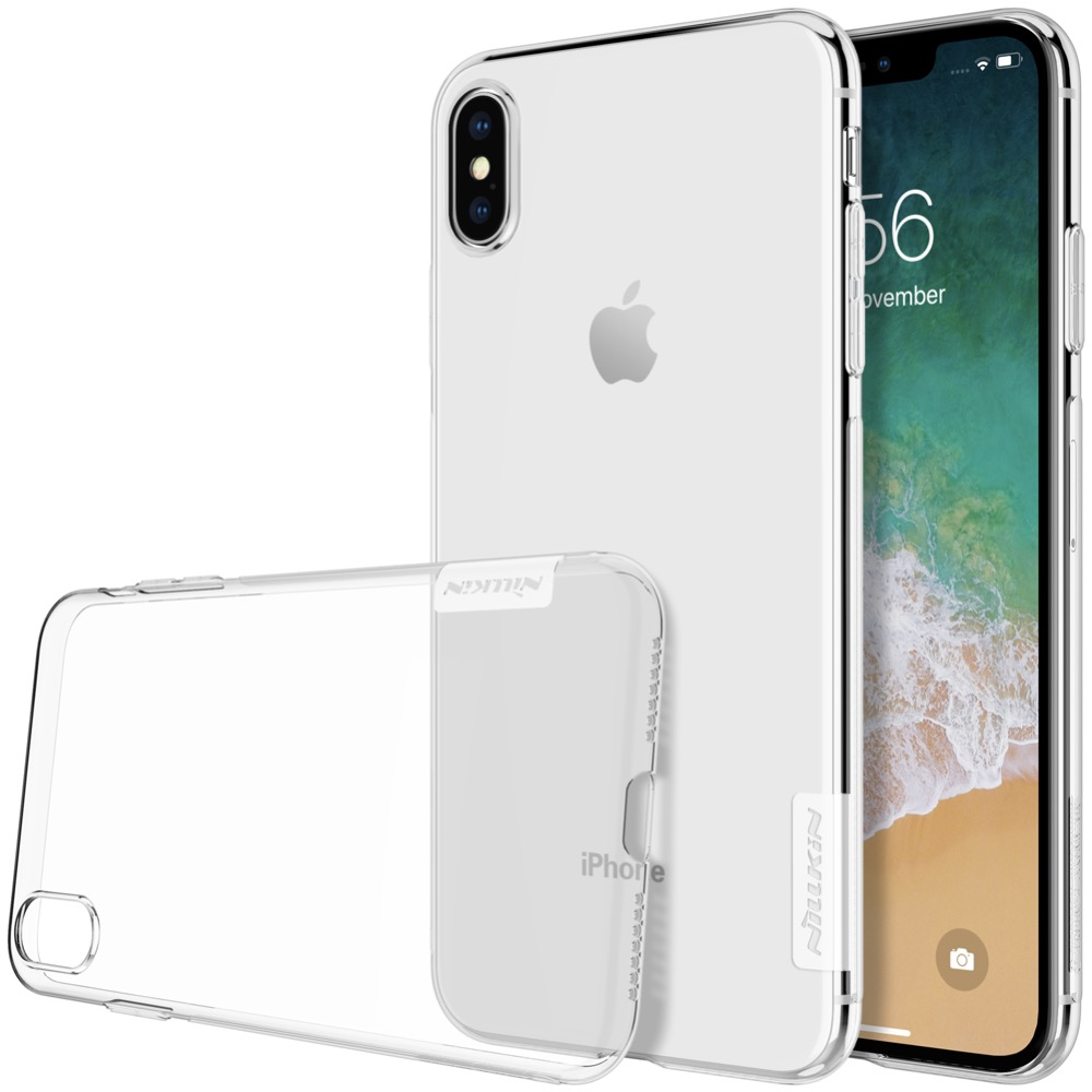HTB1VZyOOVYqK1RjSZLeq6zXppXao For iPhone XR Case Nillkin Nature Series Transparent Clear Casing Soft TPU Case For iPhone 11 Pro Xs Max XR 6 6S 7 8 Plus Cover