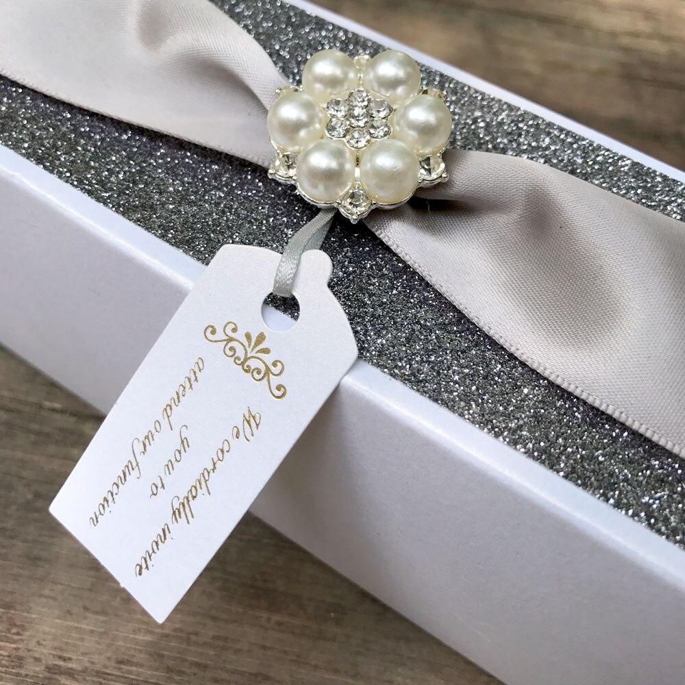 Vintage Wedding Invitations Card Scroll Box Birthday Party ...
