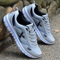 Мужская обувь Размер 39-46 взрослые мужские кроссовки летние дышащие кроссовки супер легкие повседневные туфли мужские Tenis мужские кроссовки