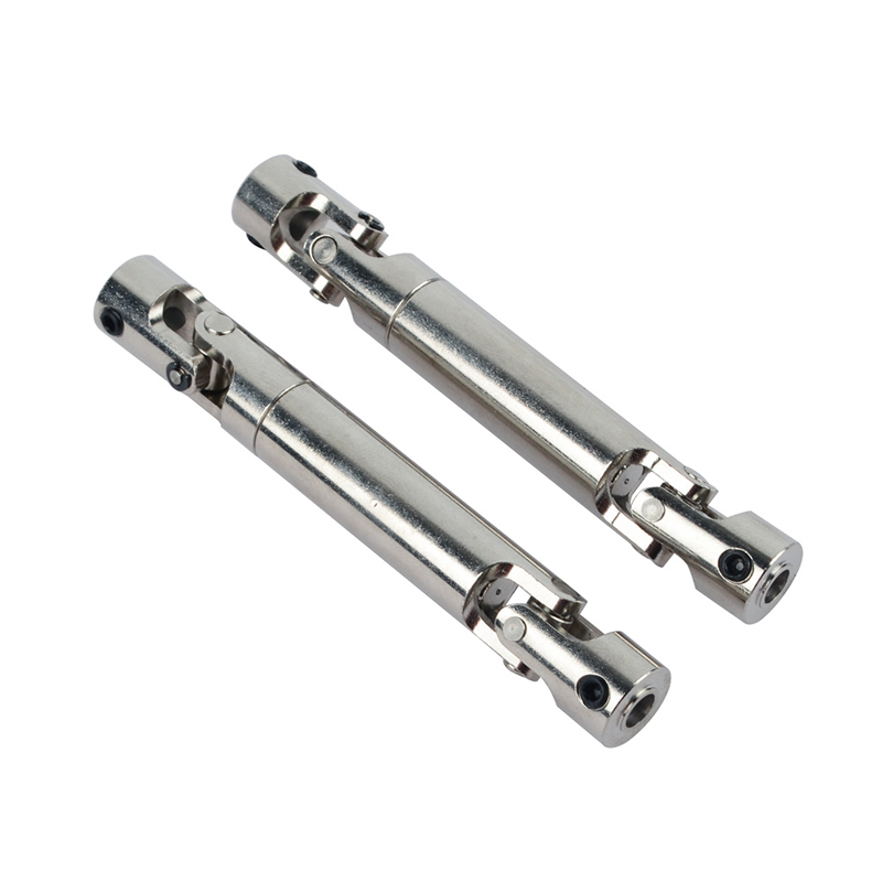 2PCS <font><b>Metal</b></font> Rear Drive Shaft Universal Joint CVD OP Upgrade Parts fr RC Car <font><b>Wltoys</b></font> <font><b>12428</b></font> 12423 Feiyue Desert Falcon Buggy DIY image