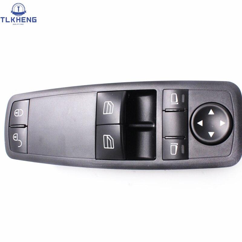 1698206410 For Mercedes-Benz W169 W245 A160 A180 B200 New Power Window Switch Master Window Control Switch 169 820 64 10 цена 2017