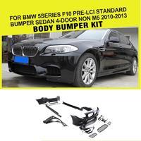 PP Racing Car Body kits Bumper Fender for BMW 5 Series F10 520i 528i 530i 2011 2016