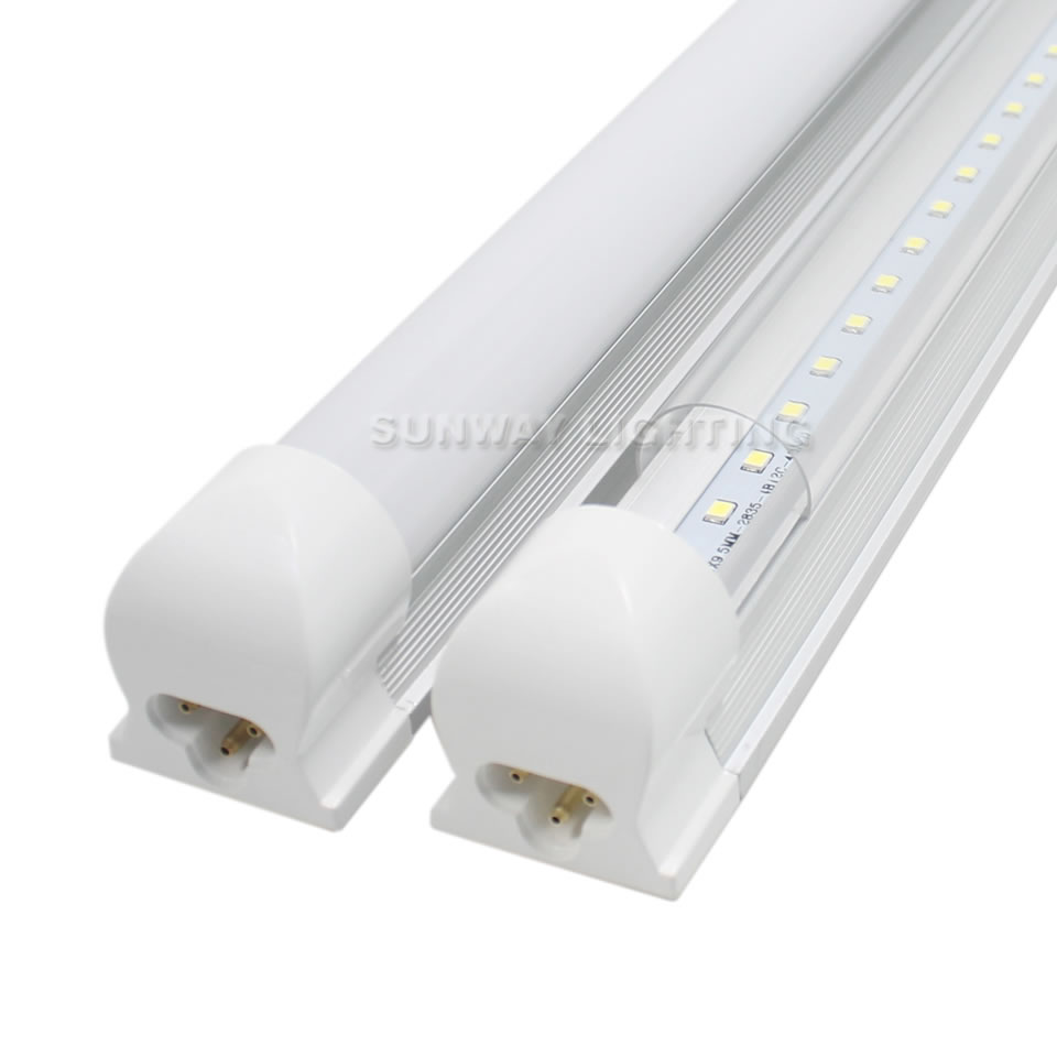 T8 Led Tubes Lights Integrated 4ft 18w 1700lm 85 265v Pf095 96leds Tube Light Circuit With Epistar Chips China Ups Dhl Ems Hk Fedex Post Tnt Usps Epacket And So On Expressdoor To Door