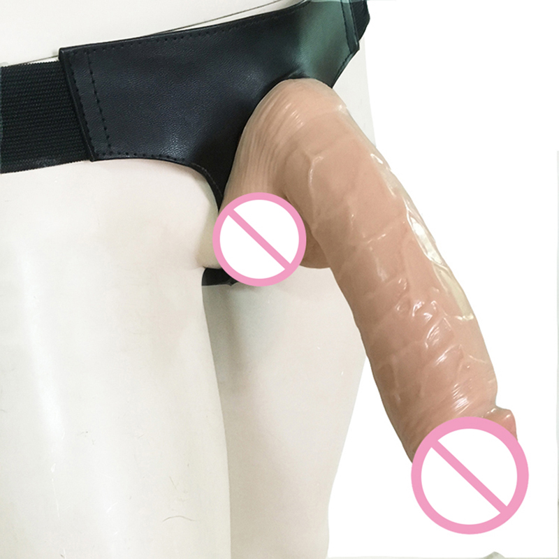 Huge dildo Strap On Dildo Pants Artificial Realistic Penis Lesbian Sex Toys For Woman Strapless Strapon Panties Silicone Dildos