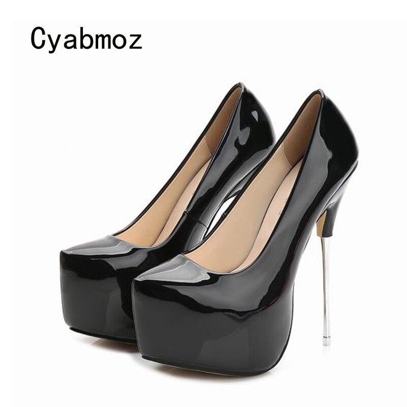 Cyabmoz Platform Women Pumps Shoes Woman