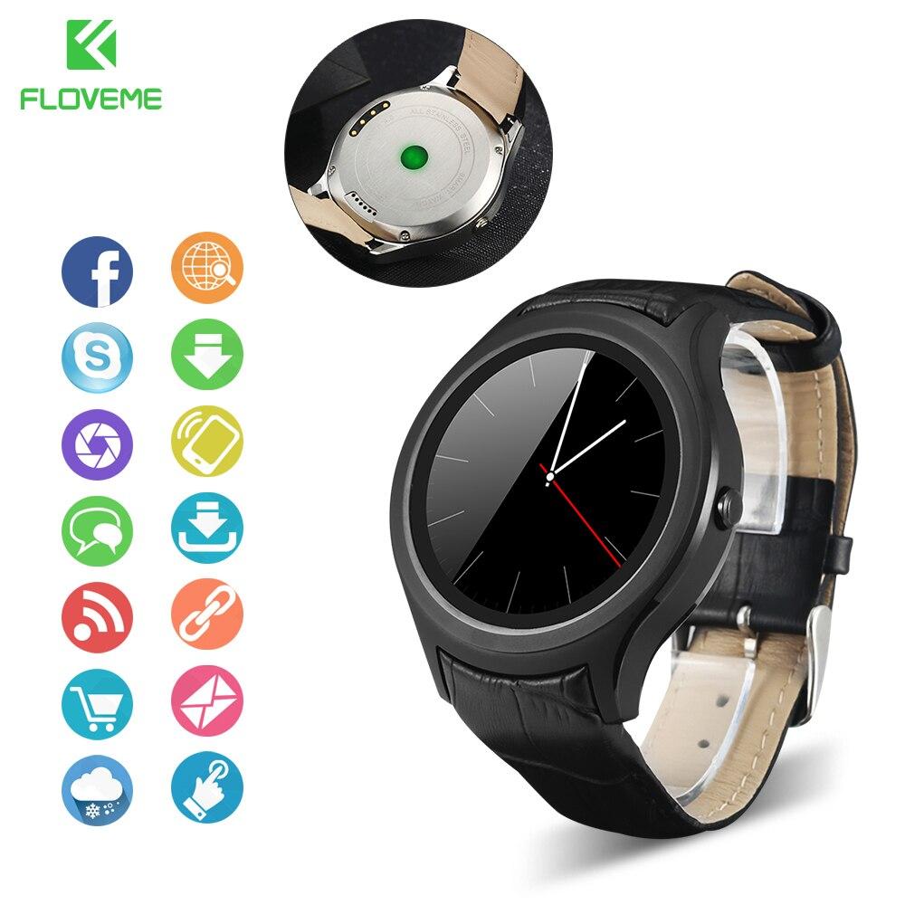 Floveme marca nuevo smart watch mtk6572 multi language bluetooth sync notificado