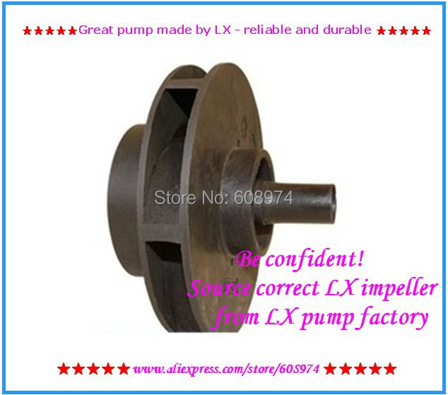LX JA75/TDA 75 Pump impeller 220v 50hz for chinese whirlpool tub impellor replacement