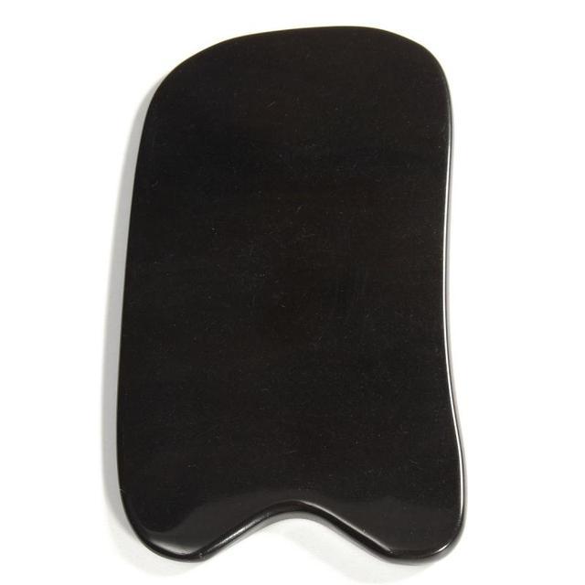 Black Buffalo Horn Gua Sha Massage Tool