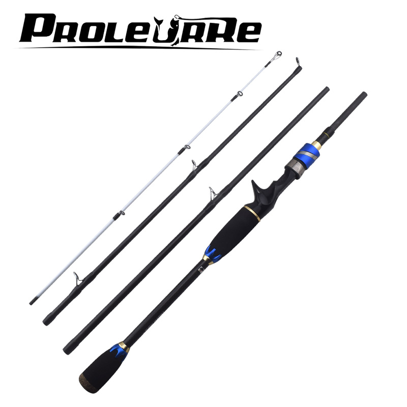 1.8m 2.1m Lure Rods 4 Section M Power Carbon Fibe Casting Travel Rod Spinning Fishing Rod Pesca 7-20g Fast Action Fishing Tackel tsurinoya 1 89m ul 100% carbon fiber rod spinning fishing rods casting travel rod 4 sections fast action fishing lure rod