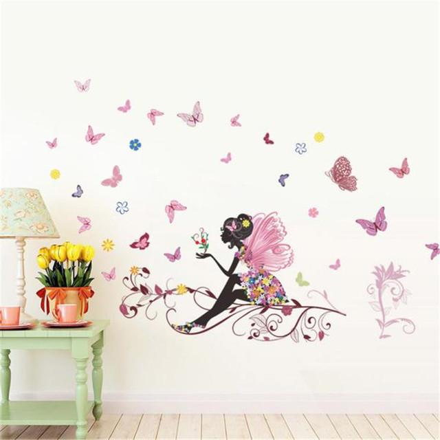Butterfly Fairy Wall Sticker