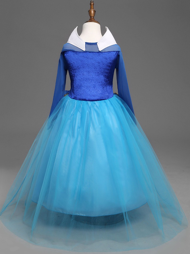 Sleeping Beauty Dress Girl (11)