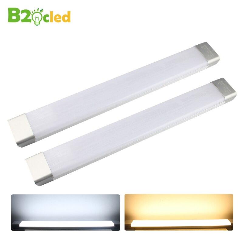 Grande surface LED tube propre lumière 0.6 m 26 W 110 V 220 V 85-265 V SMD2835 purification lampe intérieure accueil Antipoussière anti-buée bar Lumière