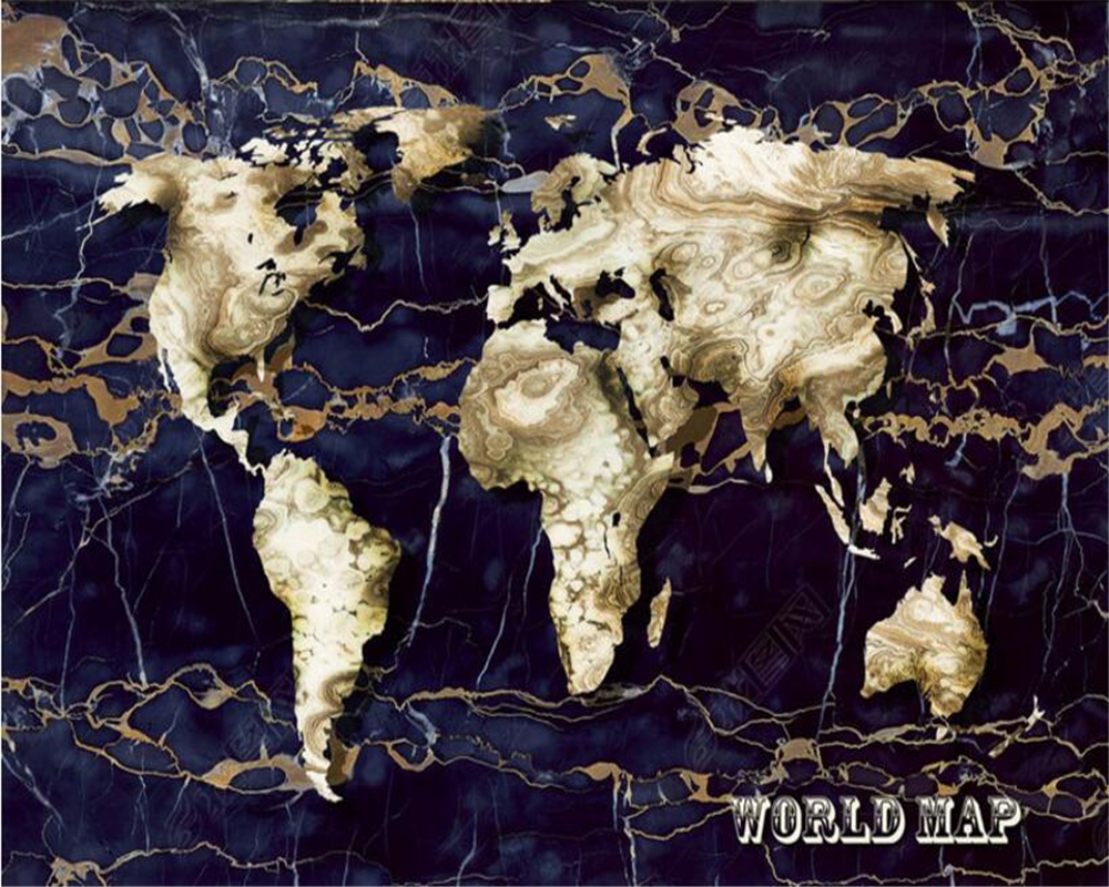 Beibehang 3d wallpaper living room bedroom mural marble world map beibehang 3d wallpaper living room bedroom mural marble world map creative tv background wallpaper for walls 3 d papel de parede in wallpapers from home gumiabroncs Images