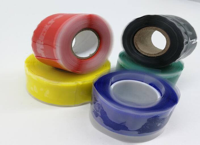 50pcs Waterproof Silicone Performance Repair Tape Bonding