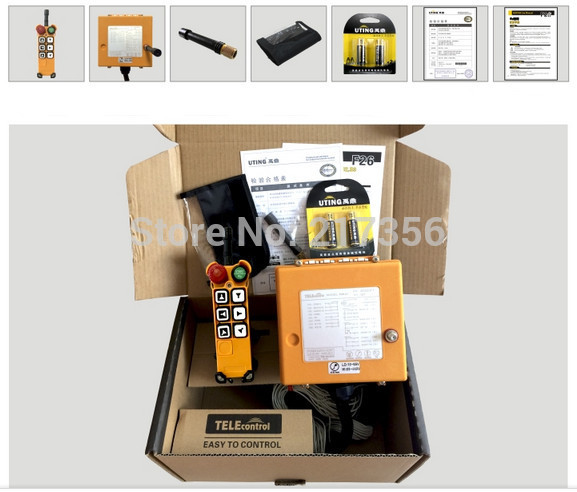 F26 C3 include 1 transmitter and 1 receiver crane Remote Control wireless remote control Uting remote