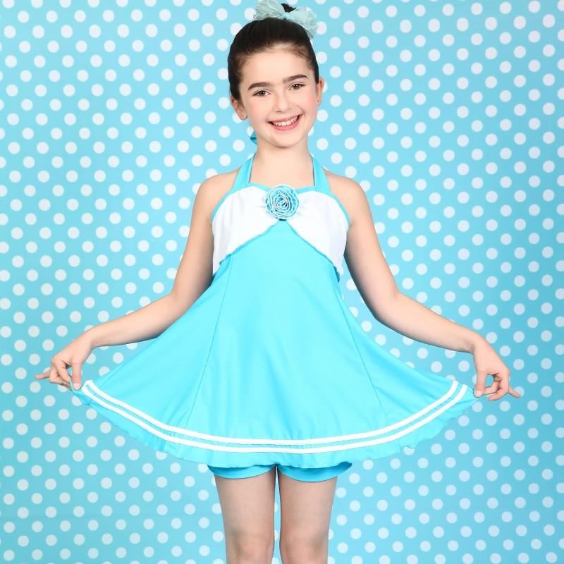 One Piece Swimsuit Children'S Swimwear Girl Children Swimming Suits For Girls Baby Swim Wear Kids New Skirt Bra With Child