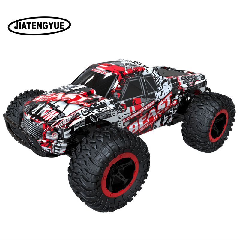 RC Cars 1:16 Climbing Buggy Monster Truck Bigfoot Remote Control Off-Road Vehicles RC Vehicle Top Level Toys Car