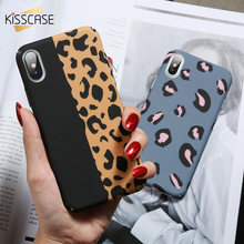 KISSCASE Case For Samsung Galaxy A7 A5 A3 2017 A8 A6 Plus 2018 Luxury Leopard Printing Case For Samsung Note 9 8 J4 J6 J8 2018(China)