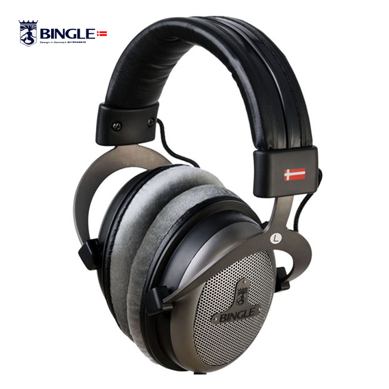 Bingle B-910 B910 B910-M Noise Cancelling Deep Bass Over Ear Stereo HIFI DJ HD Studio Music 3.5mm 6.3mm Wired Earphone Headphone