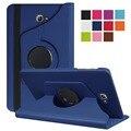Откидная Крышка Для samsung galaxy tab A 10.1 SM-T580 SM-T585 360 вращающийся ИСКУССТВЕННАЯ Кожа Стенд Case Для Samsung Tab A T580 Tablet Case