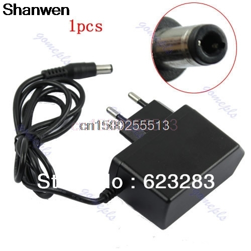 1pcs New AC 100-240V to DC 9V 1000mA Switching Power Supply Converter Adapter EU Plug new ac 100 240v to dc 12v 1 5a switching power supply converter adapter eu plug s08 drop ship