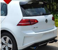 All Real Carbon Fiber Sports Car Rear Roof Spoiler Wing For Volkswagen Vw GOLF 7 MK7