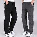 Plus Size 30-40 Alta Qualidade dos homens Macacão de Camuflagem moda Pant Multi calças dos homens de Carga militar Do Exército Ao Ar Livre Calças compridas